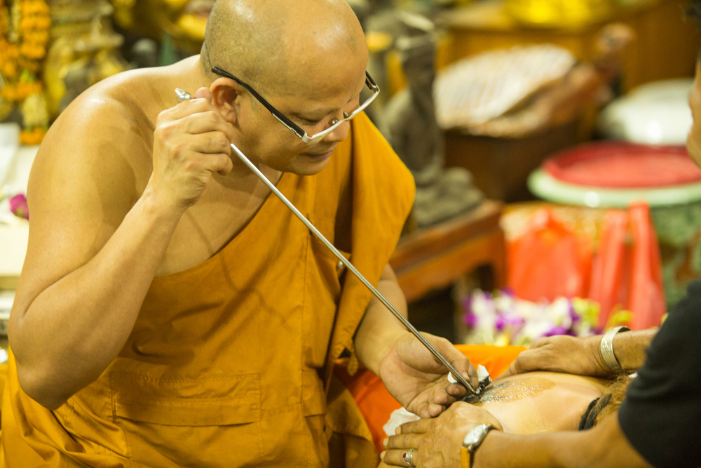 Tatuaje tailandés (Sak Yant):  historia y significados
